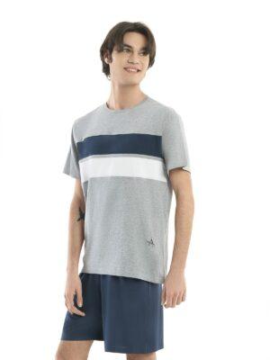 pigiama corto uomo in cotone del marchio Angel'sde